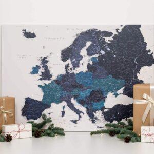 PINNWAND-EUROPA-KARTE-marineblau-Geschenk