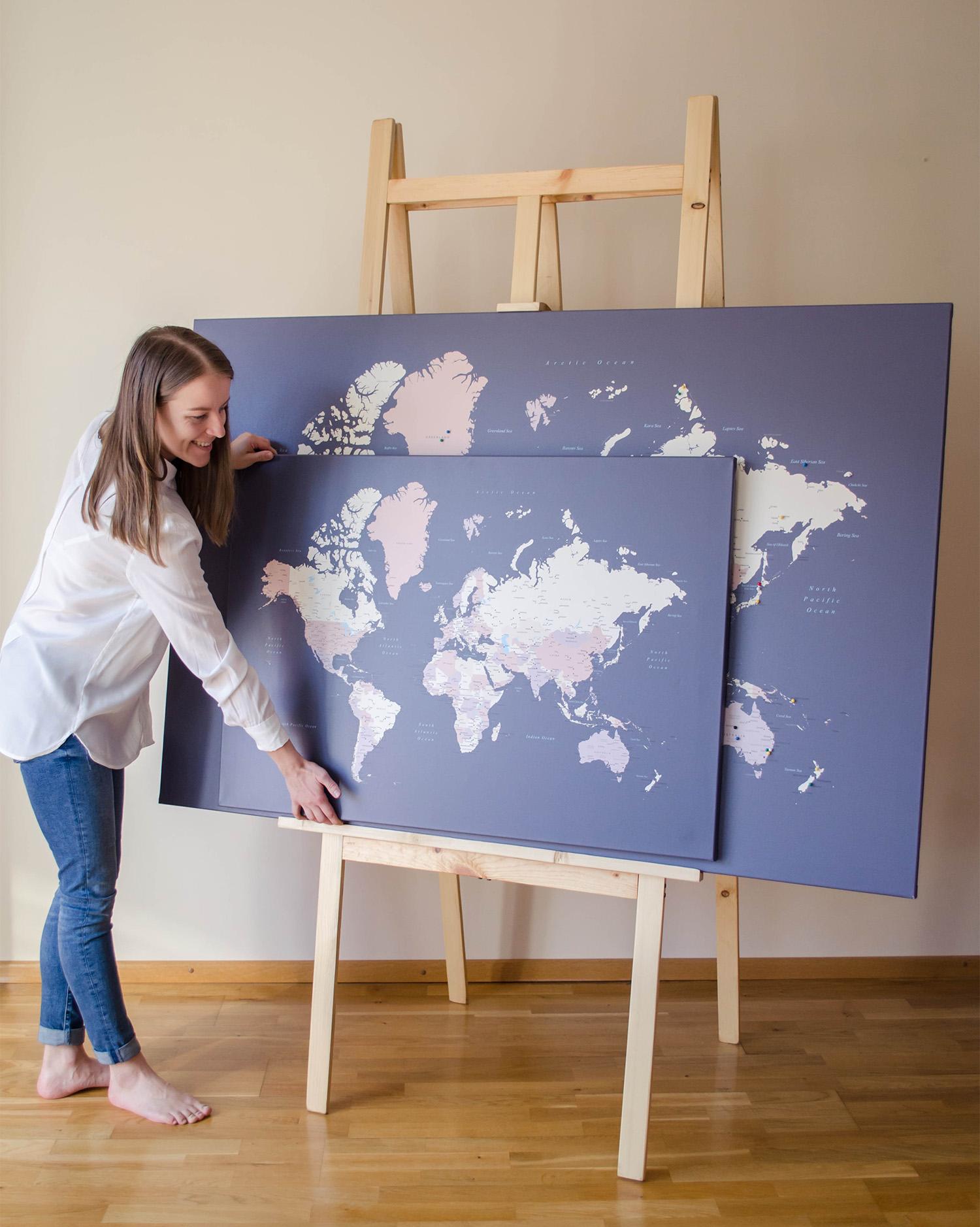push pin map size tripmapworld