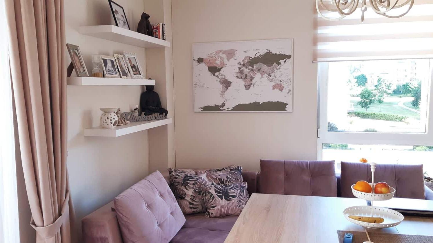 Detailliert pinnwand tripmapworld